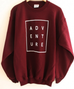 Adventure sweatshirt gift