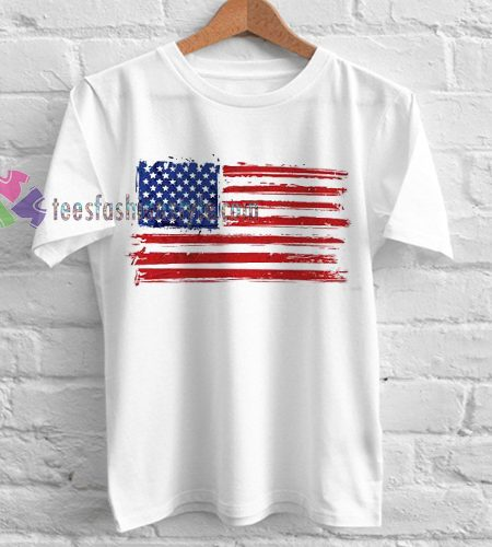 America Flag TShirt gift custom clothing labels