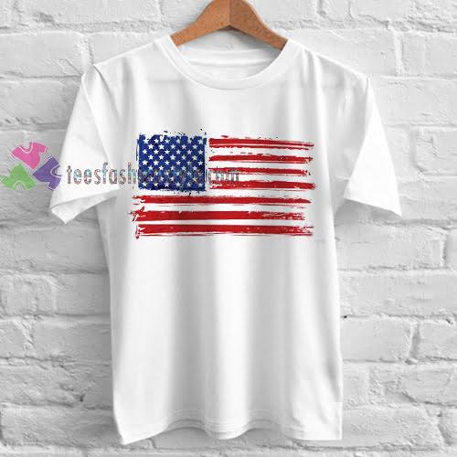 America Flag TShirt gift custom clothing labels