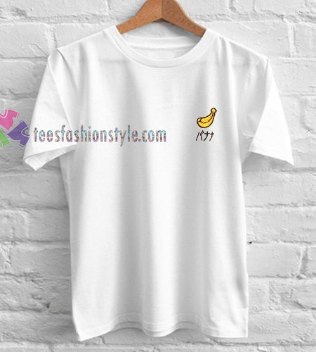 Banana Japan TShirt gift custom clothing labels