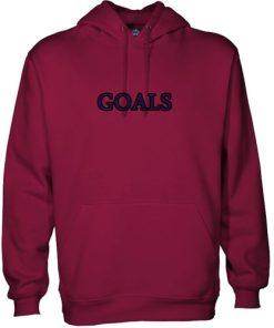 Goals Font hoodie gift
