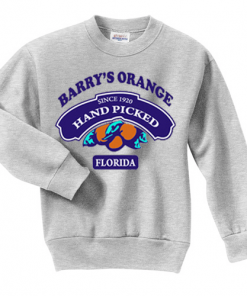 Barry's Orange Florida Sweatshirt