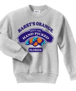 Barry's Orange Florida Sweatshirt