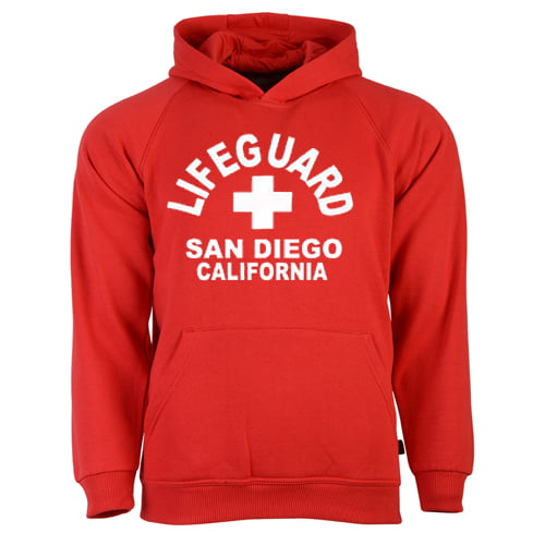 Lifeguard San Diego California Hoodie