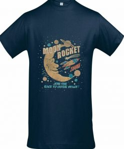 Moon Rocket T shirt