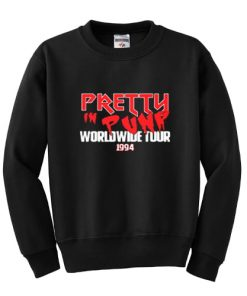 Pretty In Punk Worldwide Tour 1994 Sweatshirt