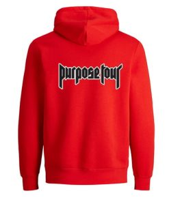 Purpose Tour tumblr Hoodie