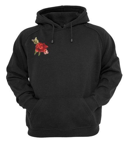Rose Flower tumblr Hoodie