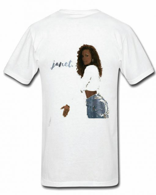 Sexy Unique Janet Jackson T Shirt