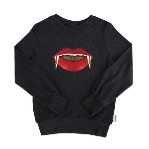 Sexy Vampire Lips Sweatshirt