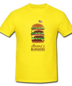 Stranger Things Burgers T Shirt