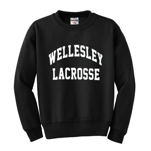 Wellesley Lacrosse Sweatshirt