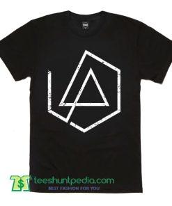 Linkin Park RIP Chester 5 Edge Logo LP New Linkin Park Logo T Shirt