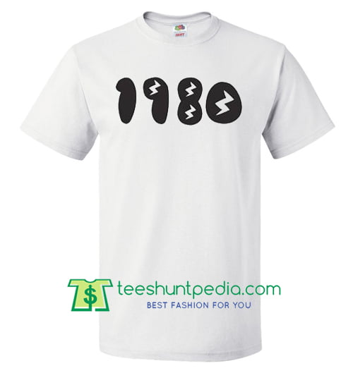1980s T Shirt - Retro Eighties T Shirt