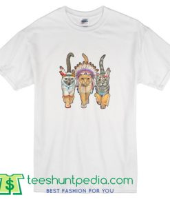 3 Indian Cats T Shirt