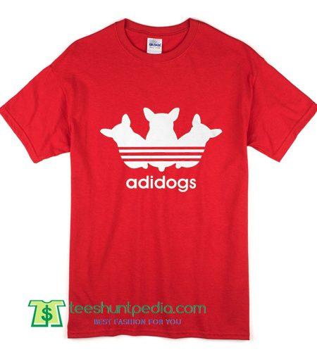 Adidogs Parody T shirt