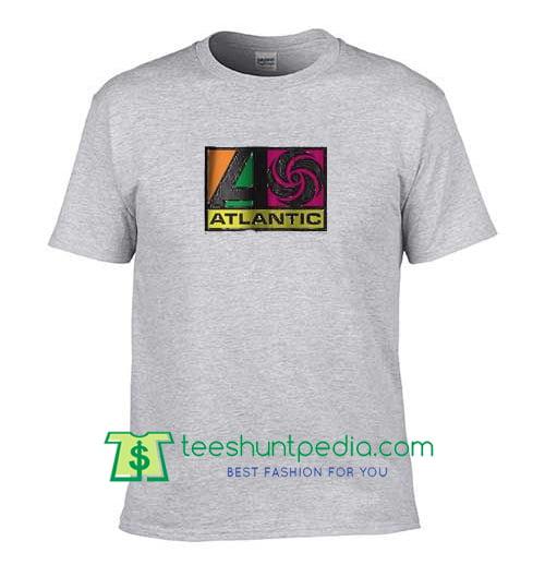 Atlantic Records Unisex adult T shirt