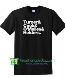 Band Line-Up Unisex Arctic Monkeys T shirt