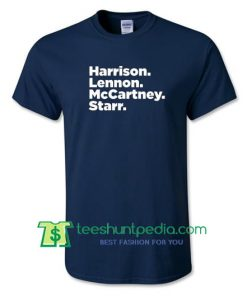 Band Shirt, Mens Beatles Shirt, Paul McCartney, John Lennon Shirt