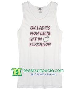Beyonce Formation Bride Tank top, Bride getting ready Tank top