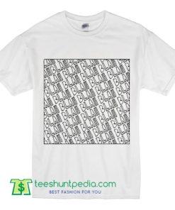 Blah Blah Blah and a million T Shirt. Abstract urban edgy designer print