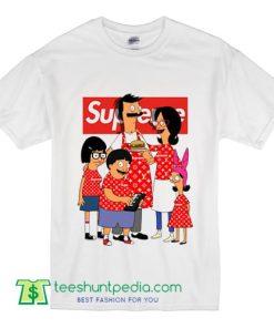 Bob's Burgers Parody Inspired Supreme Box Logo Unisex T shirt