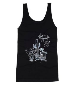 Cactus Have A Wonderful Day Tank Top