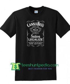 Cannabiss Smoke Time T-Shirt