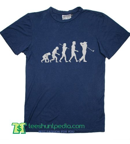 Evolution of Golfer Funny Golf Parody T shirt
