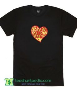 Heart Logo Quote Song T Shirt