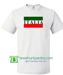 Italia Flag T shirt