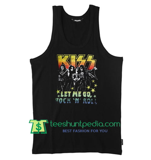kiss let me go tanktop