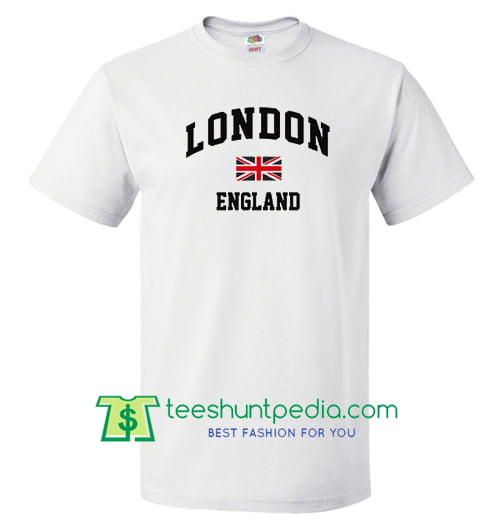 London England Flag t shirt