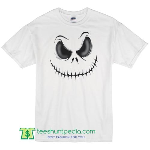 Men's Halloween T Shirt Scary Costume Skull Pumpkin Face Dead T Shirt