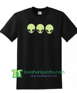 Organic Cotton Tee, Acid Alien Tumblr Shirt