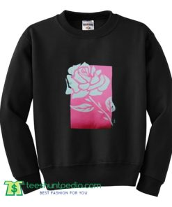 Pink Box Rose Sweatshirt