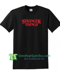 Stranger Things Letter T Shirt Size XS,S,M,L,XL,2XL,3XL