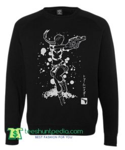 TOMB RAIDER CROFT Inspired Jumper Epic Gaming Sweater