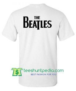 The Beatles Shirt, Classic Beatles Logo back T Shirt