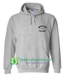 United State Air Force Grey Hoodie