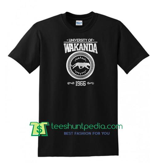 University of Wakanda - Black Panther t shirt