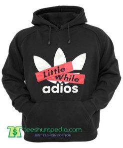 Vintage Adios Big Logo Add Trefoil Parody Sweatshirt Hoodies