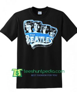 Vintage Beatles Tshirt John Lennon Tee faded black Shirt
