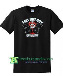 Vintage Fall Out Boy T-Shirt Music Rock Band Street Wear Top Tee Shirt