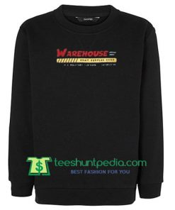 Warehouse Black sweatshirt