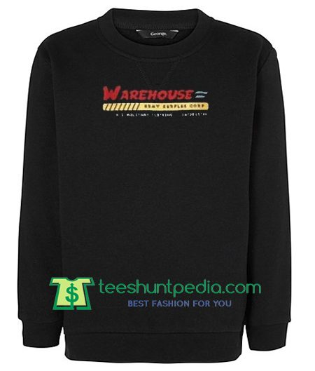 Warehouse Black sweatshirt