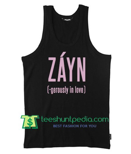 Zayn Tank Top gerously In Love Tanktop
