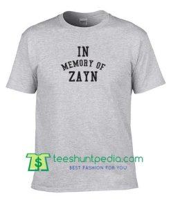 Zayn Tshirt In Memory Of Zayn Tshirt