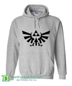 Zelda Logo tumblr Hoodie