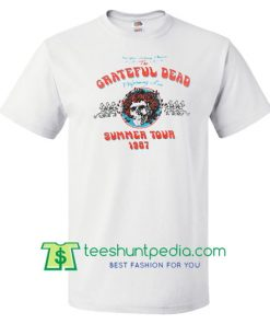grateful dead summer tour 1987 t-shirt